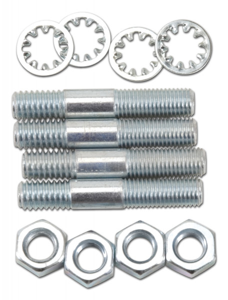 Carburetor Stud Kit, 1.75 Inch, Zinc