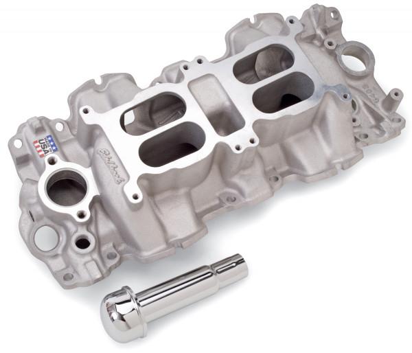 Performer RPM Dual-Quad Manifold, Chevrolet 348/409 'W' Big Block, Large Port