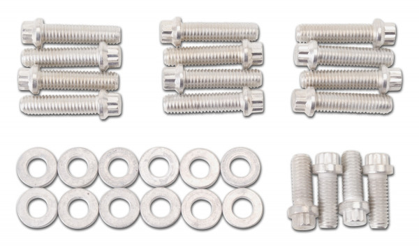 "Plated Intake Bolt Kit, Chevrolet 348/409 ""W"" Series"