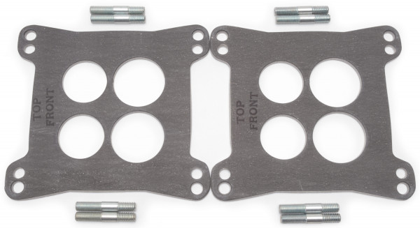 Heat Insulator, 4-Hole, Gasket, 0.125 Inch, For Dual-Quad