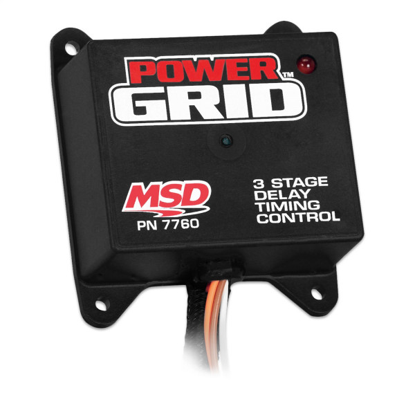 Programmable, 3-Stage Delay Timer, Power Grid
