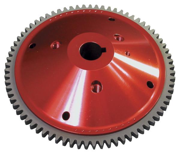 Multi-Channel Total Loss Clutch Flywheel