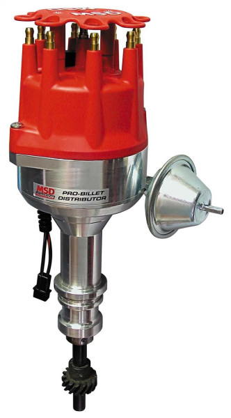 Distributor Ford 351W with Vacuum Advance, Pro-Billet
