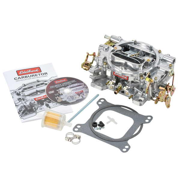 Carburetor, Performer Series, 600CFM, Manual Choke