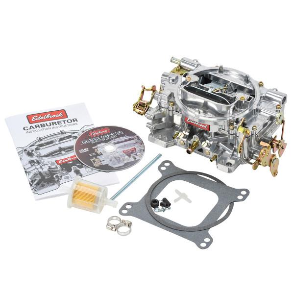 Carburetor, Performer Series, 500CFM, Manual Choke