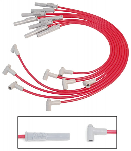 Super Conductor Wiresets, Chevrolet 366-454 77-87, HEI