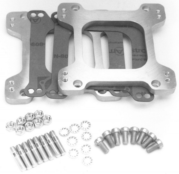Adapters Square-Bore Sideways Mount, 2 Plates