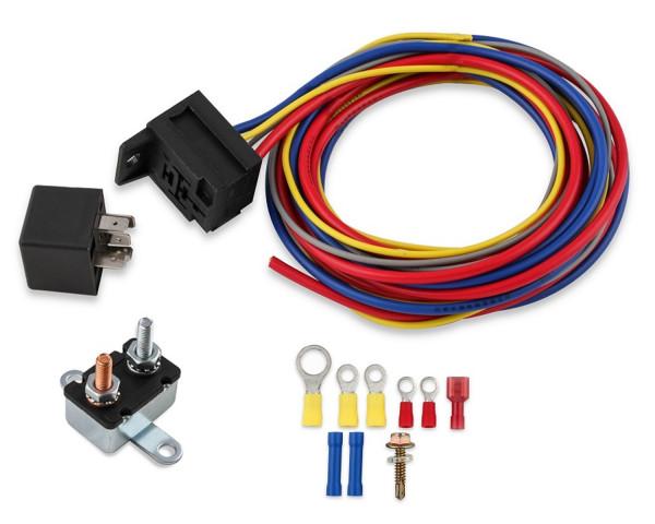 Electric Fan Harness & Relay Kit, Manual, 30A