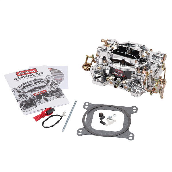 Dual-Quad Carburetor, AVS2 Series, 500 CFM, Manual Choke