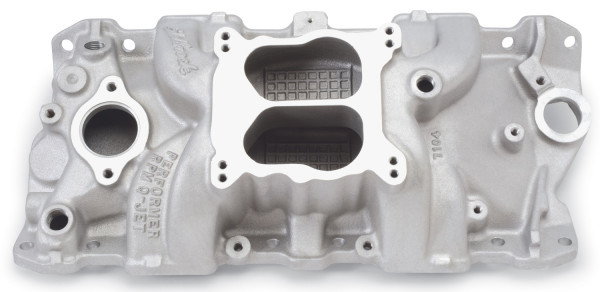 Performer RPM Manifold, Chevrolet Small Block, 55-86, for Quadra-Jet
