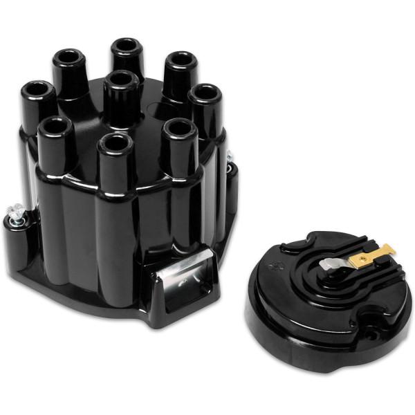 Cap/Rotor Kit, Street Fire, MSD/GM V8 Points, Socket