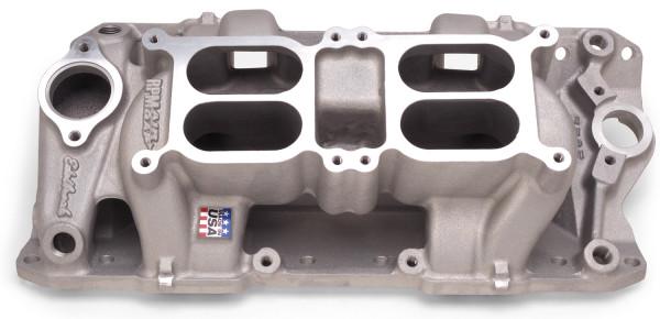 RPM Dual-Quad Air-Gap Manifold, Chevrolet Small Block, 55-86