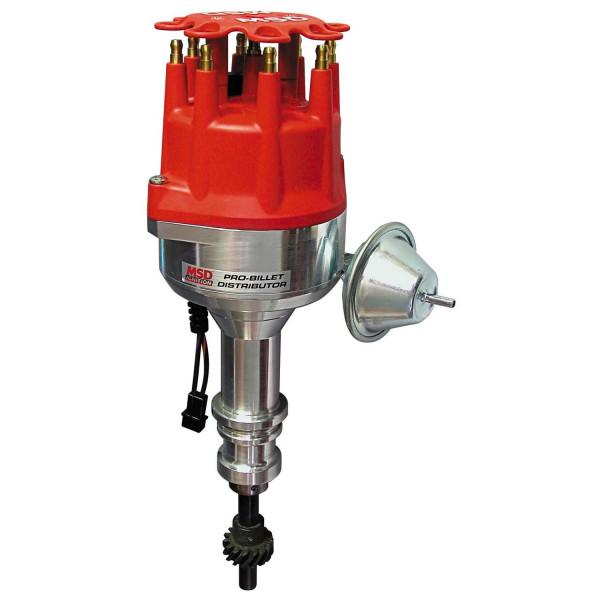 Distributor, Ford 351W Vacuum Advance Steel Gear