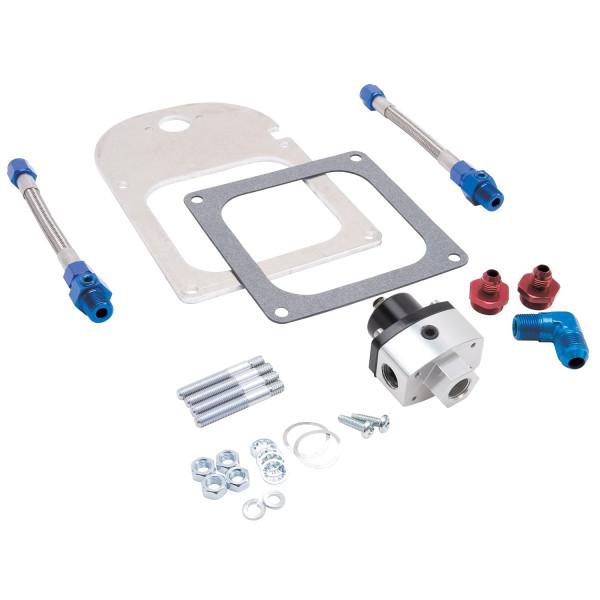 Fuel Pressure Regulator Kit, Dual outlet, 4500 Flange