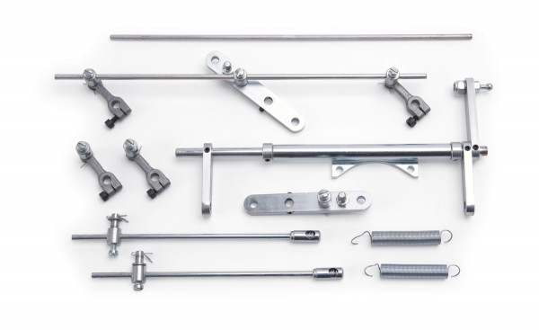 Throttle Linkage Kit, Non-Progressive, 6x2x1 94 Series