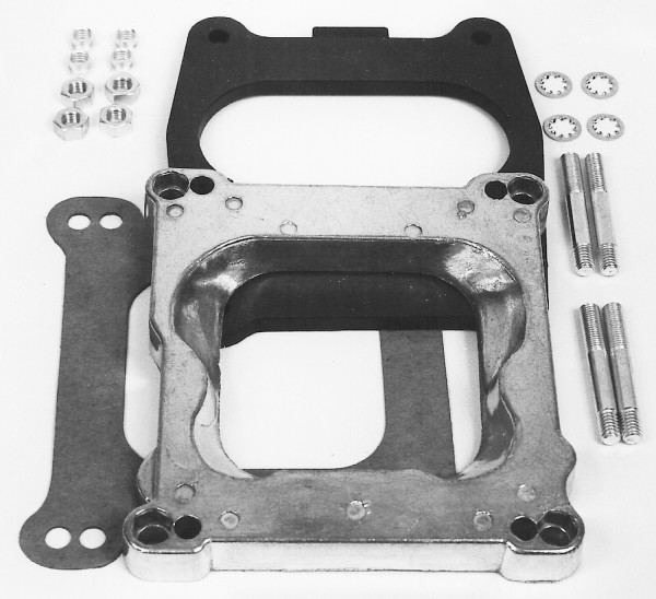 Adapter Thermo-Quad Chrysler to Square-Bore Intakes, 0.75 inch