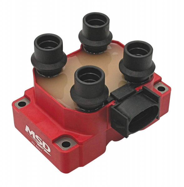 Coil, Ford DIS Coil Pack, 4 Tower, Stock