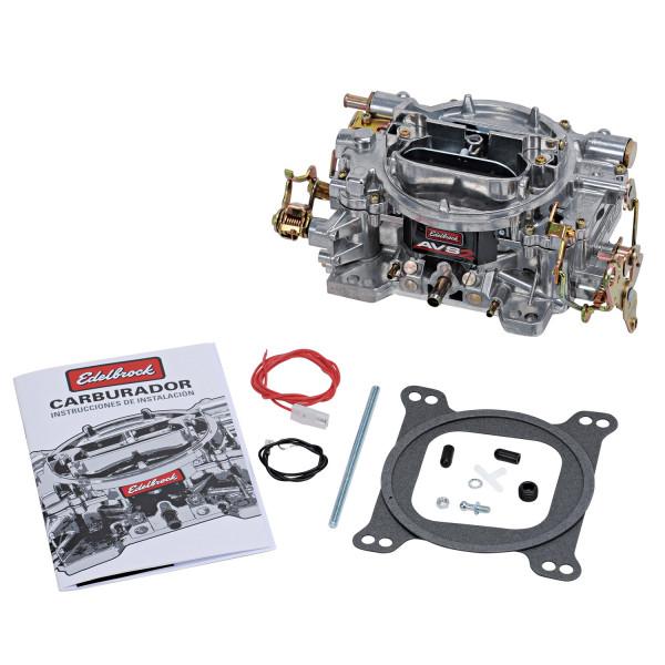 Carburetor, AVS2 Series, 650 CFM, Manual Choke