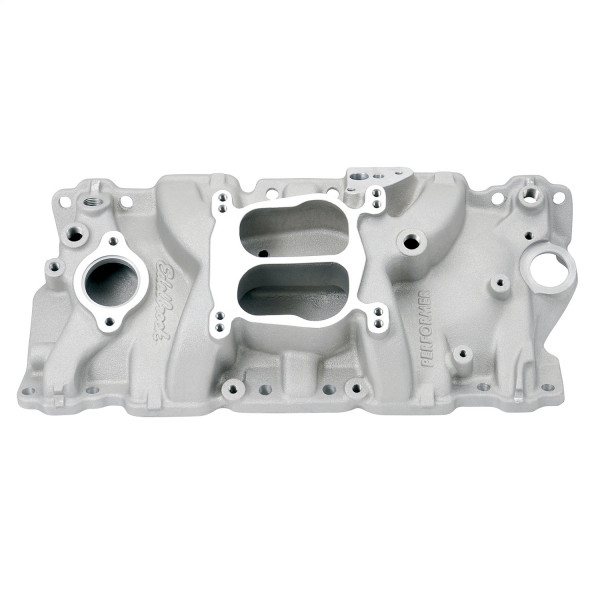 Performer Manifold, Chevrolet Small Block, 87-95 cast Iron Heads, EGR