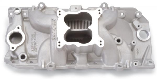 Performer RPM Q-Jet 2-O Manifold, Chevrolet Big Block, Oval Port, For Quadra-Jet