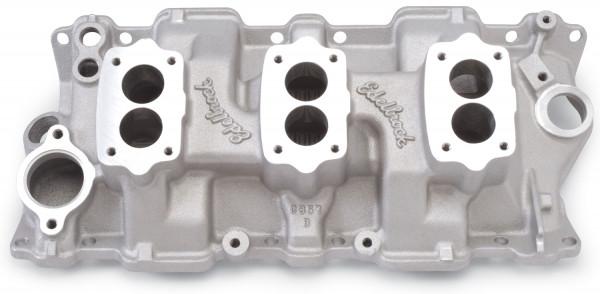 C357-B Three-Deuce Manifold, Chevrolet Small Block, 55-86