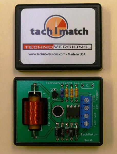 Tach Adapter, Voltage Boost Module