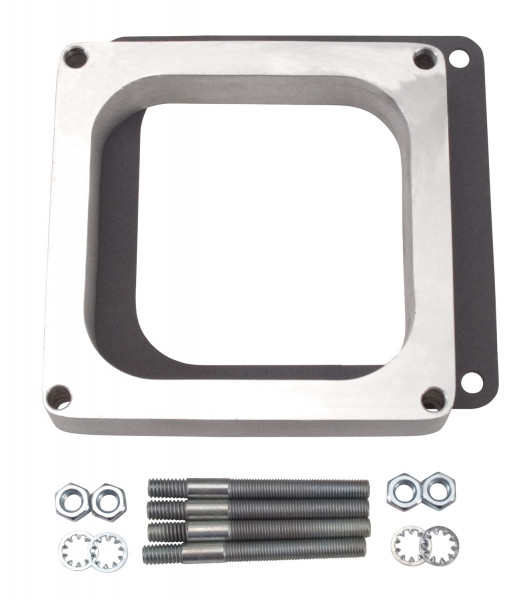 Spacer, Open, Aluminum, 1 Inch, Holley 4500