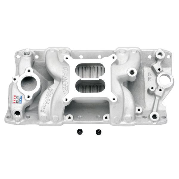 RPM Air Gap Manifold, Chevrolet Small Block, 55-86