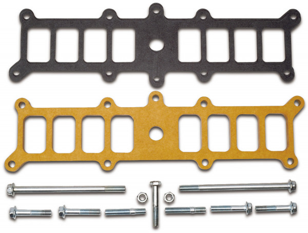 Intake Manifold Spacer, Ford 5.0L EFI, For Edelbrock #3821