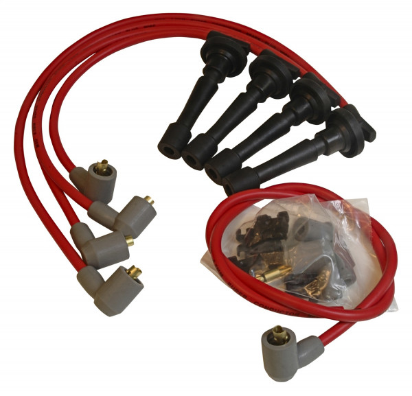 Acura/Integra, 1.8L Non-Vtec, '90-'97 MSD Super Conductor Wiresets 8.5mm Red 32329