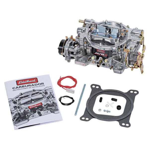 Carburetor, AVS2 Series, 650 CFM, Electric Choke