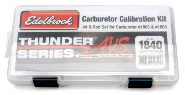Calibration kit for Edelbrock 1805, 1806