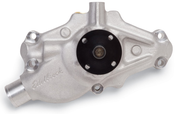 Water Pump, High-Performance, Corvette Small Block, Short Style, Reverse, 1984-91