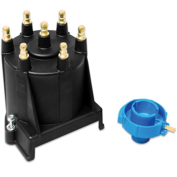 Cap/Rotor Kit, Street Fire, GM V6 4.3L EFI, External Coil