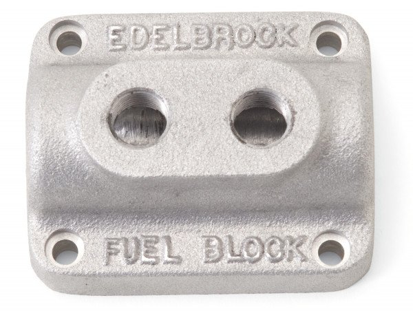 Fuel Distribution Block, Dual Carburetor