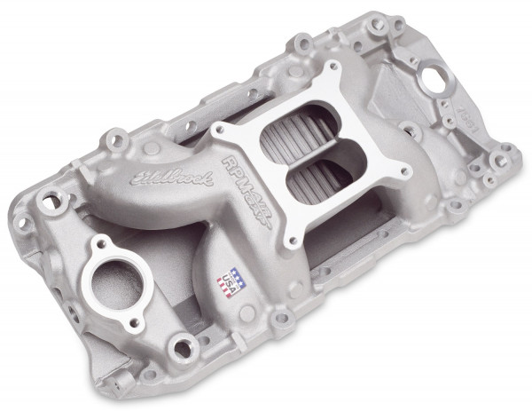 RPM Air-Gap 2-O Manifold, Chevrolet Big Block, Oval Port