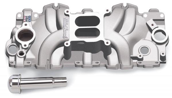 "Performer RPM Manifold, Chevrolet 348/409 ""W"" Big Block, Large Port"